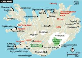 iceland map iceland map europe country map of iceland