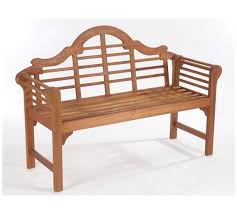 Garden Bench Hardwood Buy Lutyens Style Hardwood Garden Bench Natural At Argos Co Uk