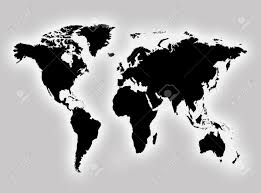 World Map Continents And Countries by World Map To Represent Countries And Continents Stock Photo