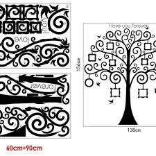 forever 18 online shop black frame memory tree wall sticker online shopping