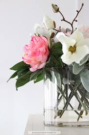 Faux Floral Centerpieces by Faux Floral Centerpiece Tutorial Oh Everything Handmade