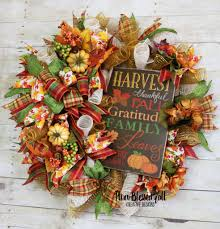 thanksgiving front door decorations fall front door wreath fall welcome wreath fall deco mesh wreath