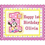 amazon com minnie mouse cake u0026 cupcake toppers party supplies