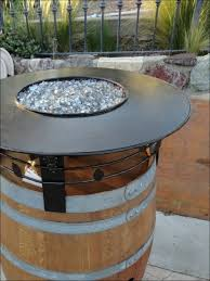 wine barrel fire table amazing shop fire pits accessories at lowes wine barrel fire pit