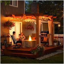 outside party backyards gorgeous hanging lights for outside party decorations