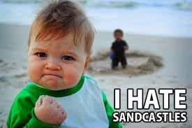 Baby With Fist Meme - success kid i hate sandcastles know your meme