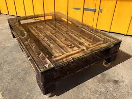 Wooden Pallet Coffee Table Glass Top Pallet Coffee Table Pallet Ideas Recycled Upcycled