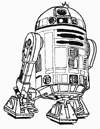 coloring page star wars robot r2 d2 star wars coloring pages robot coloring pages