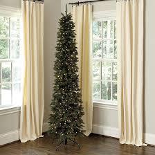 prelit christmas tree highlands pencil prelit christmas tree ballard designs