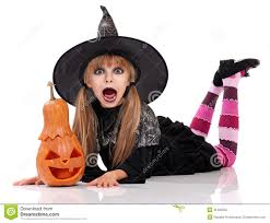 Girls Halloween Costumes Halloween Costume Stock Photo Image 31465550