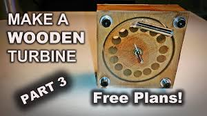 Free Plans by Make A Wooden Turbine With A Drill Press Free Plans Part 3