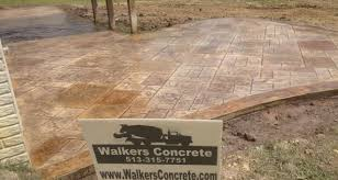 Seamless Stamped Concrete Pictures by Walkers Concrete Llc Stamped Concrete Patio Stamped Concrete Or