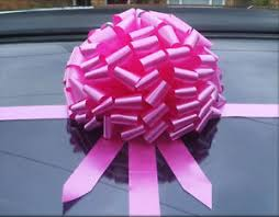 large gift bow bow for car big large gift bow all colours superfast
