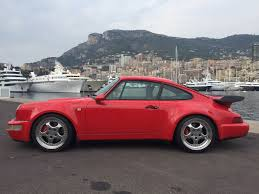 porsche 964 red porsche 964 turbo 3 6 séléctionné par rs monaco