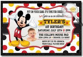 mickey mouse birthday invitations mickey mouse birthday invitations di 330 harrison greetings
