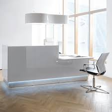 Illuminated Reception Desk Reception Desks Modern Reception