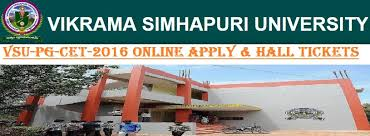 vsupgcet 2018 online application form process indiaresults