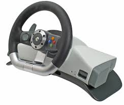 xbox 360 steering wheel xbox 360 wireless steering wheel review trusted reviews