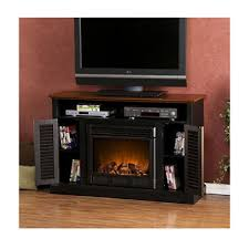 Electric Fireplace Media Center Chatsworth Electric Fireplace Media Console Two Tone Sam U0027s Club