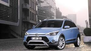 hyundai crossover 2015 hyundai i20 active petite crossover tries to look rugged in frankfurt