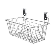 Rubbermaid Bathroom Storage by Amazon Com Rubbermaid Fasttrack Garage Storage Wire Mesh Basket