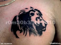 tribal lion tattoo tattoo artists org