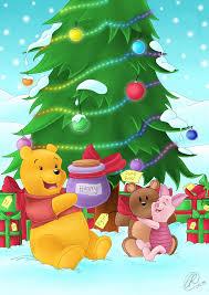 Winnie The Pooh Christmas Tree Decorations Winnie The Pooh Christmas By Rainbowrose912 On Deviantart