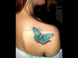 butterflies tattoos on leg 3d butterfly tattoos 4 best tattoos ever
