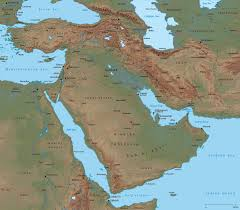 Russia Physical Map Physical Map by Partial Europe Middle East Asia Russia Africa Map For And