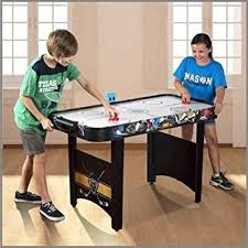 air powered hockey table medal sports 48 air powered hockey table amazon co uk sports