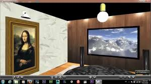 vrml walkthrough tv room youtube