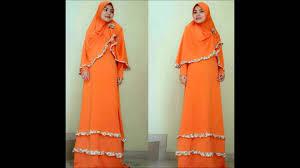 Pakaian Gamis Terbaru 2016 model baju busana gamis muslim modern terbaru 2016
