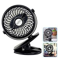 battery powered extractor fan amazon com welltop 5 inch portable clip fan rotatable cl fans