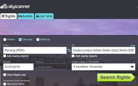 use skyscanner to find the best travel deal economy traveller