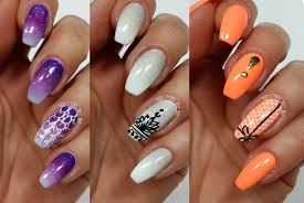 3 easy accent nail ideas freehand 4 khrystynas nail art youtube