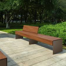 zen bench with back by lab23