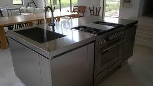 ilot central cuisine avec evier ilot central de cuisine avec évier et table de cuisson diy evier