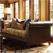 Leather And Upholstered Sofa Leather And Fabric Sofa Combinations Leather Fabric Sofa
