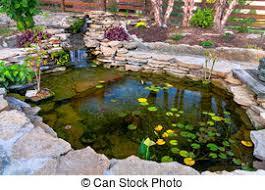 Decorative Pond Backyard Water Garden Pond Stock Photo Images 748 Backyard Water