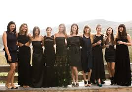 black and bridesmaid dresses 35 ideas for mix and match bridesmaid dresses