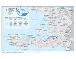 Haiti Map Worst Earthquake In Over A Century Hits Haiti Canadian Medical