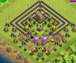 layout coc town hall level 7 10 best th7 base town hall 7 layouts coc top hybrid base th 7
