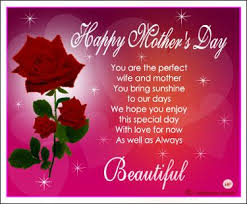 mothers day greetings messages to my from husband happy