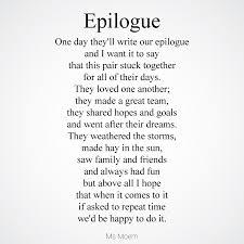 wedding poems epilogue a wedding poem ms moem poems etc