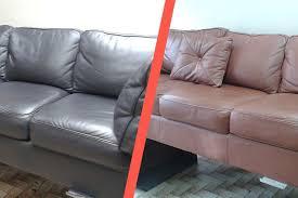 teindre canapé teindre un canapé en cuir emejing repeindre un canap pictures