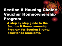 Section 8 3 Bedroom Voucher Section 8 Housing Choice Voucher Homeownership Program A Step By