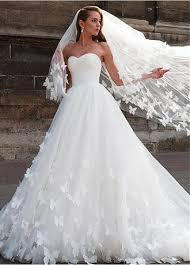 a line wedding dress buy discount attractive tulle sweetheart neckline a line wedding