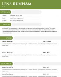 Dynamic Resume Templates Free Dynamic Cv Templates Land The Job With Our Word Templates