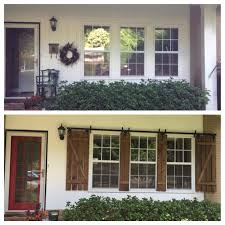 before and after curb appeal improvement by adding custom built