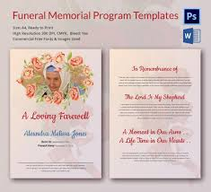Free Funeral Programs Memorial Program For Child Baby Memorial Service Programs Letter